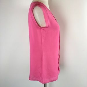 The Limited Tops - The Limited Womens Tank Top Pink Sleeveless